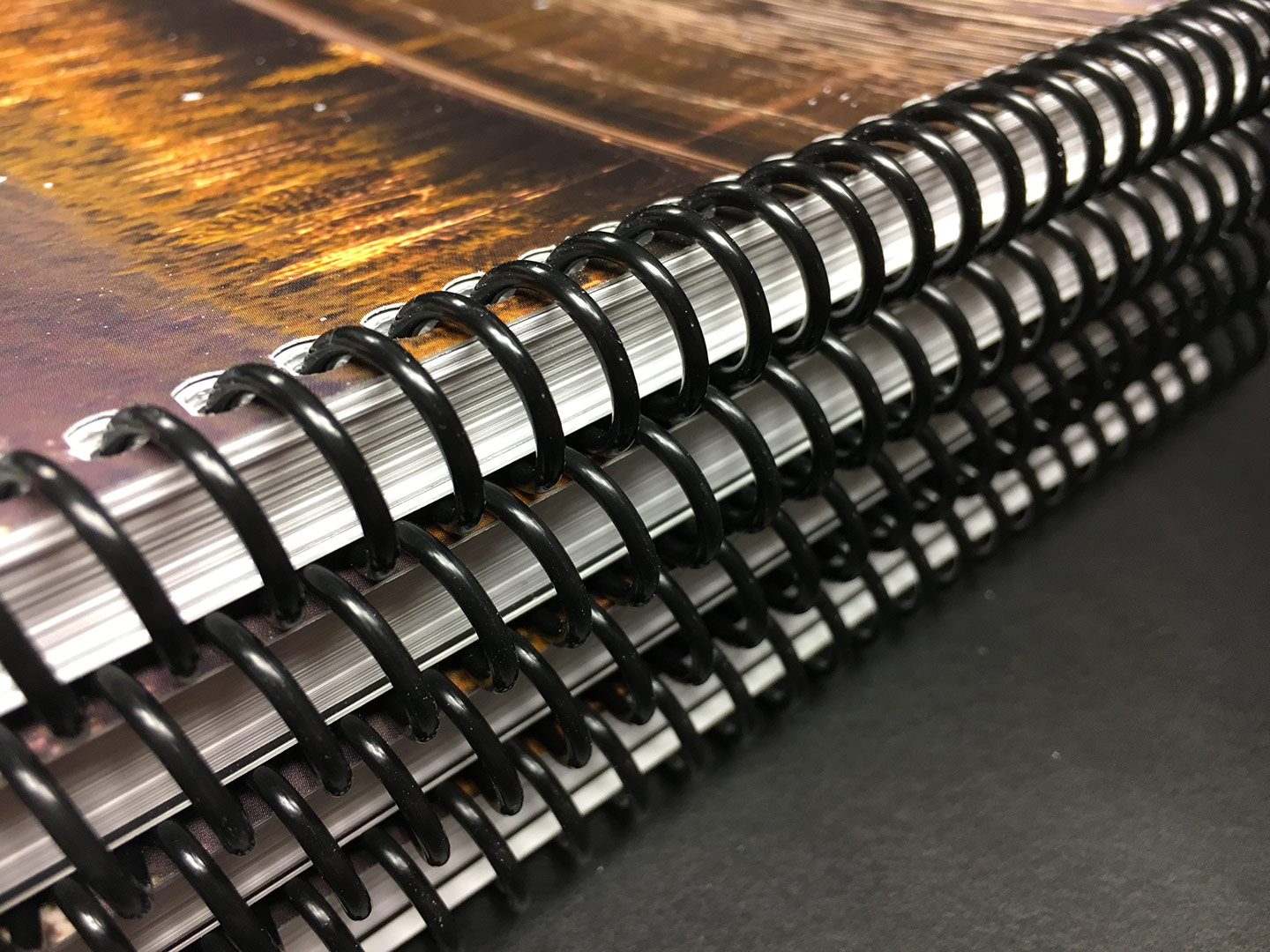 how to open spiral binding